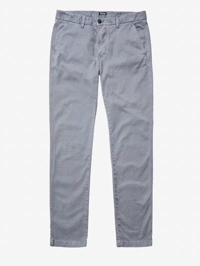 JACQUARD CHINO PANTS