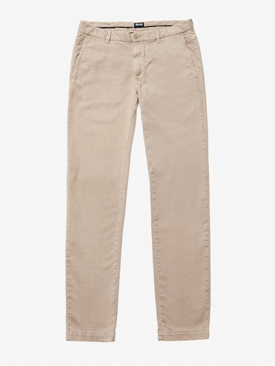GARMENT DYED CHINO PANTS