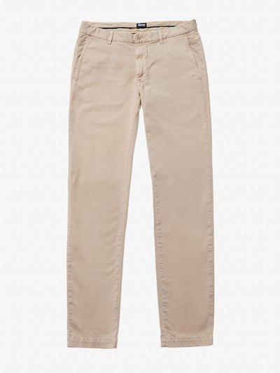 GARMENT DYED CHINO PANTS