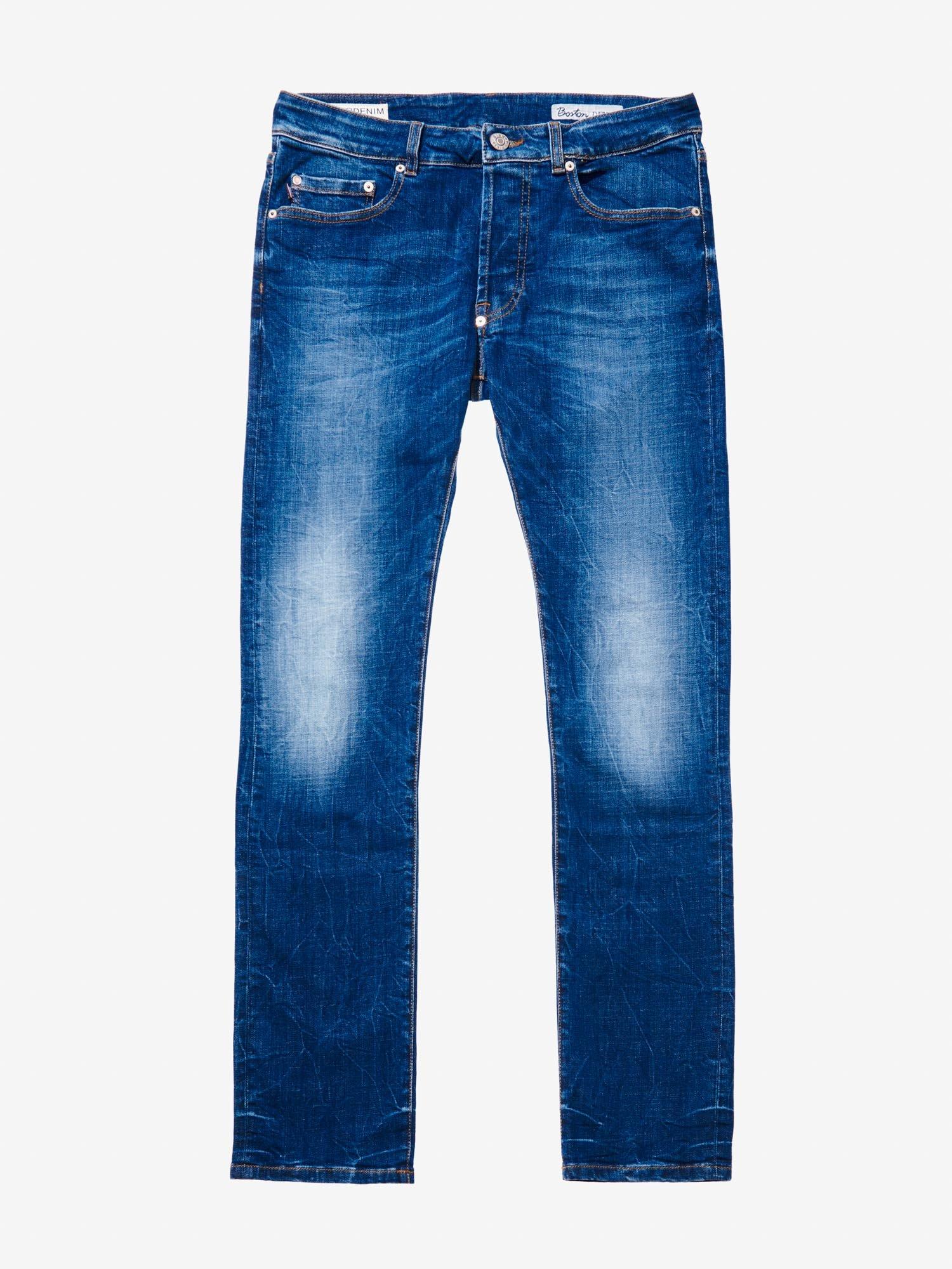 Blauer - BOOT CUT STONE WASHED DENIM - Denim Washing - Blauer
