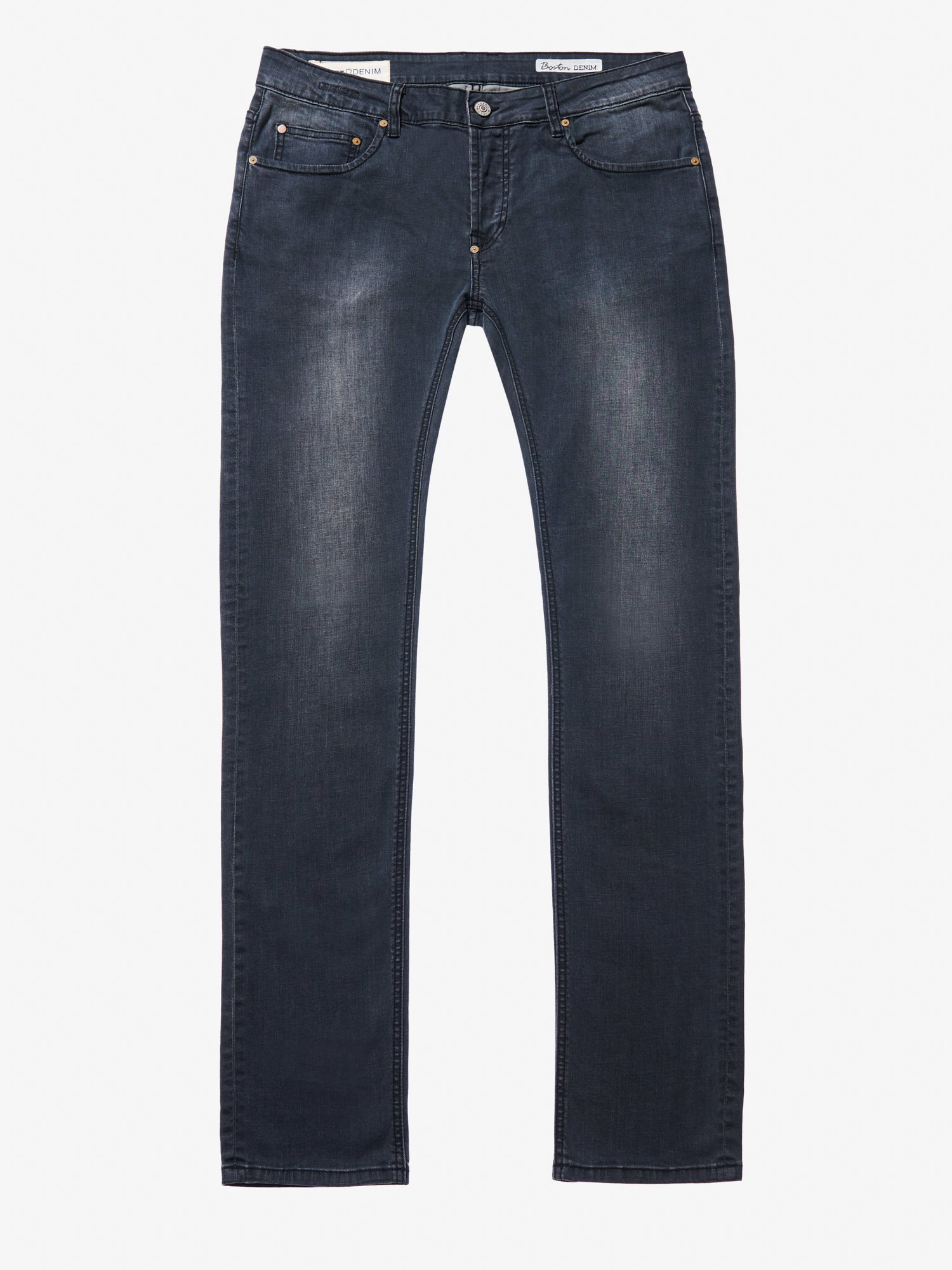 Blauer - BLACK STONE WASHED DENIM - Stone Washed Morbido - Blauer