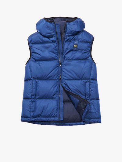 LUIGI HOODED DOWN VEST