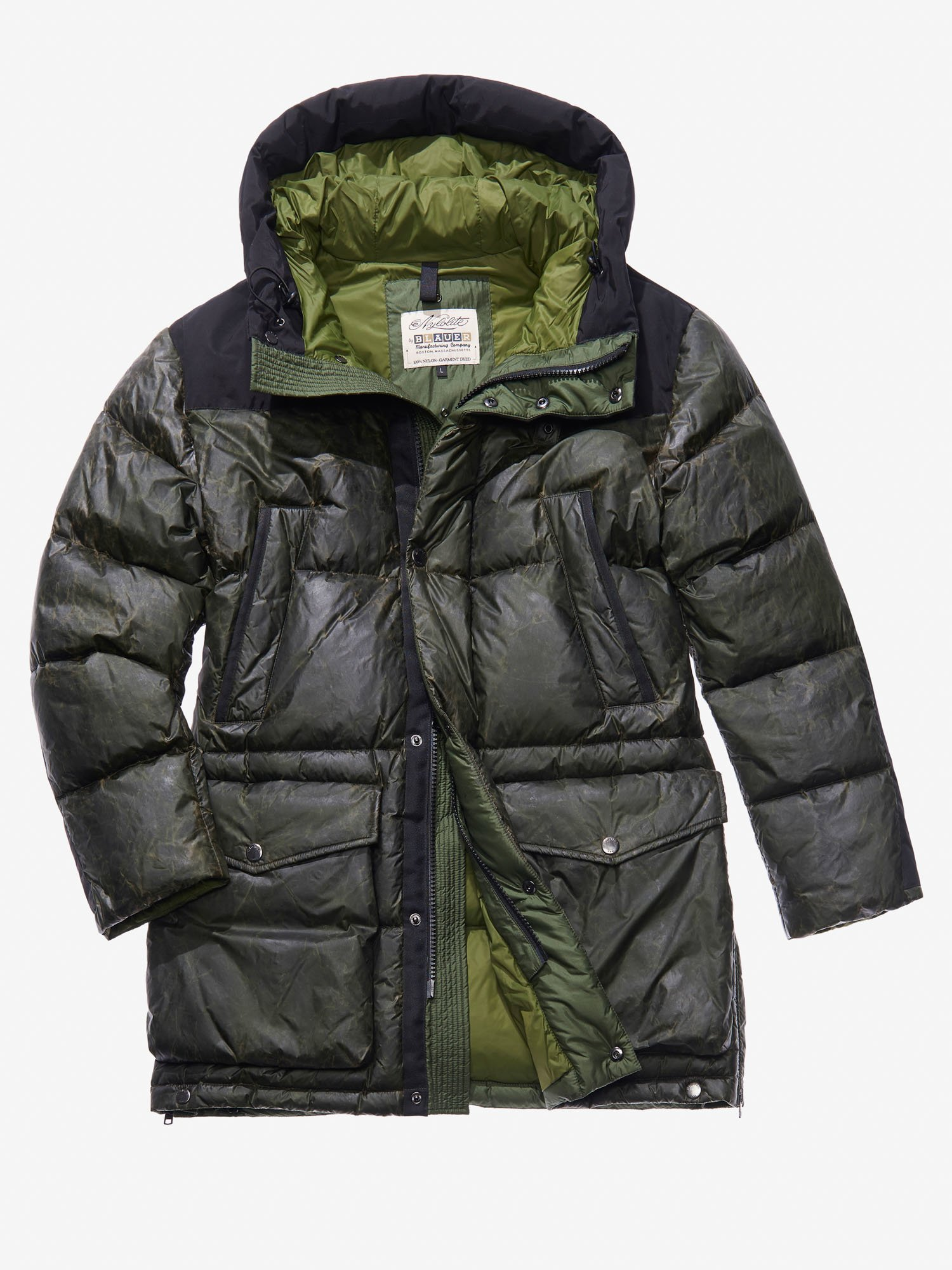 ULTRA WARM DOWN MILITARY COAT - Blauer
