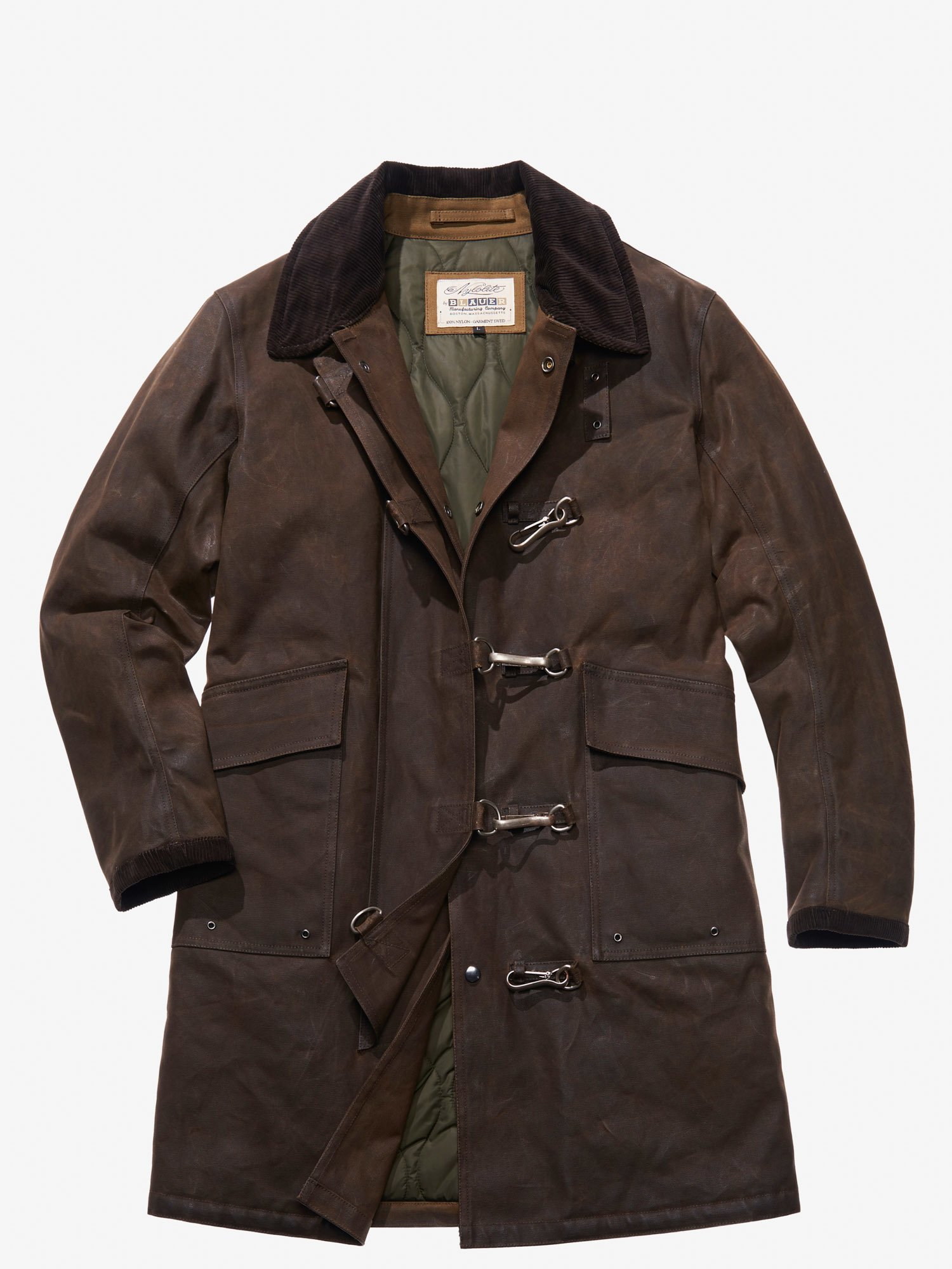 Blauer - FIREMAN COAT - Brown - Blauer