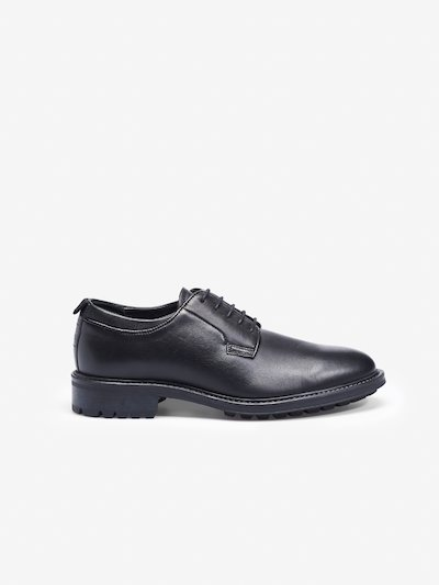 LACE UP DERBY  SHOES