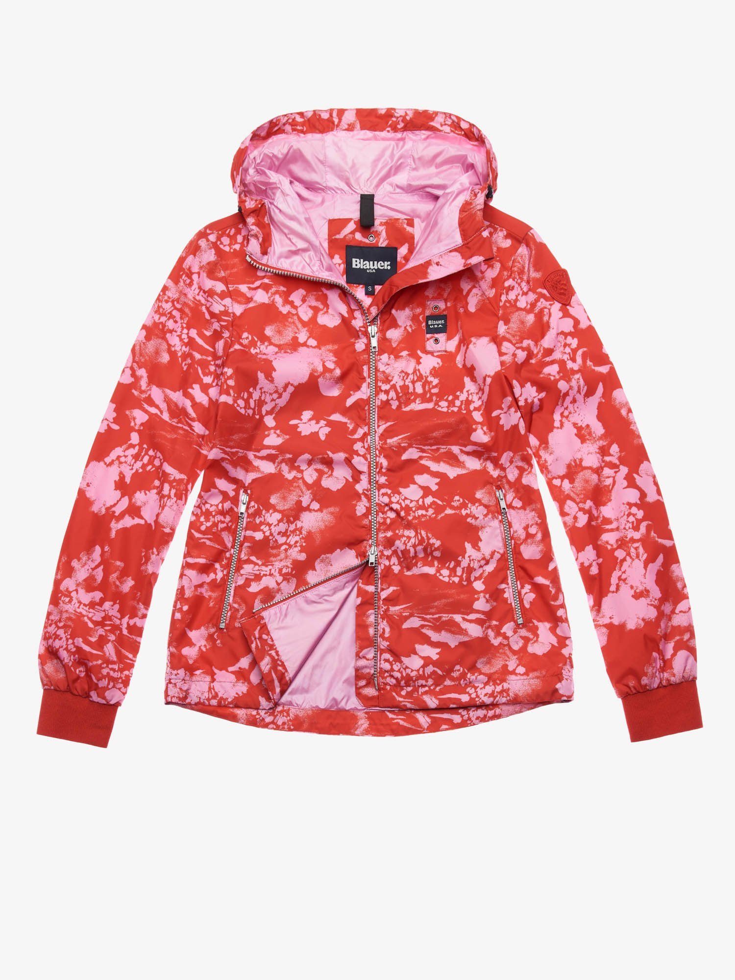WRIGHT FLORAL CAMOUFLAGE JACKET - Blauer