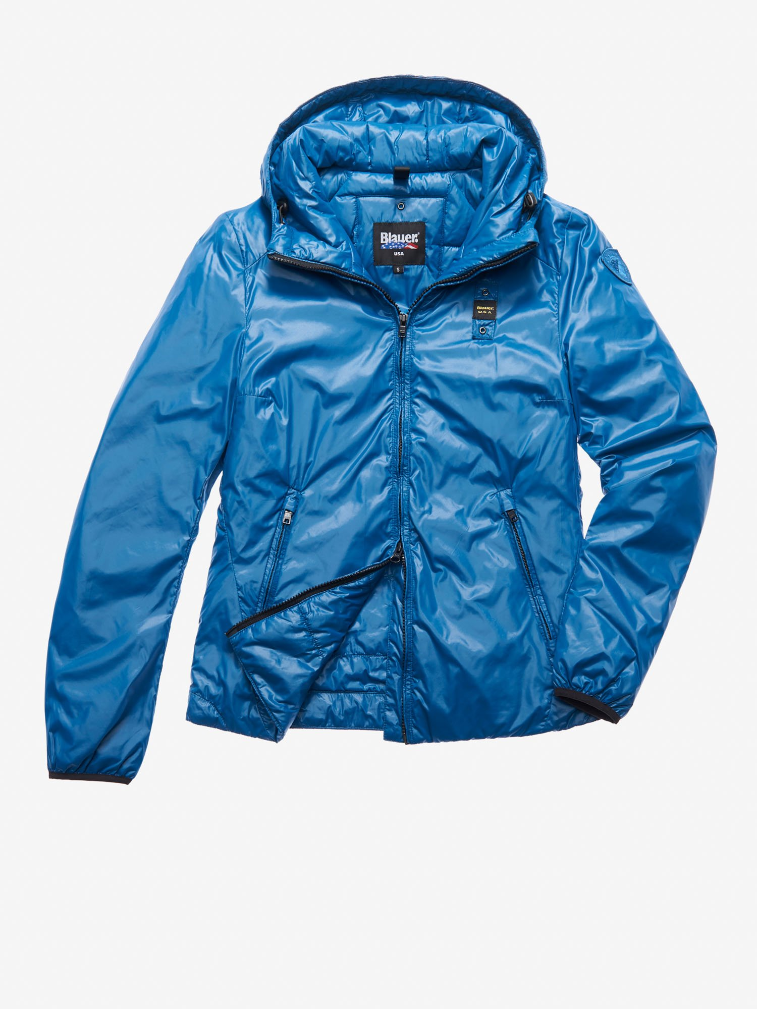 Blauer - ROBERTS LIGHTWEIGHT PADDED JACKET - Blue Deep Lake - Blauer