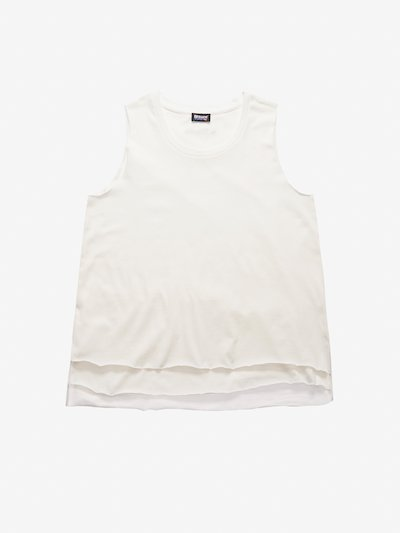 DOUBLE COTTON TANK TOP