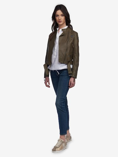 new concept 31d32 f54d1 Blauer ® Giacche di Pelle Donna - Scopri la Collezione ...