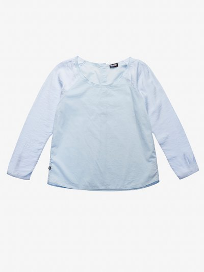 COTTON AND VISCOSE MUSLIN SHIRT