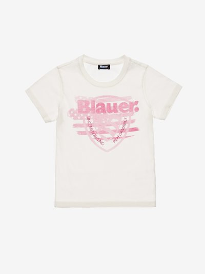 T-SHIRT JUNIOR ÉCUSSON BLAUER USA