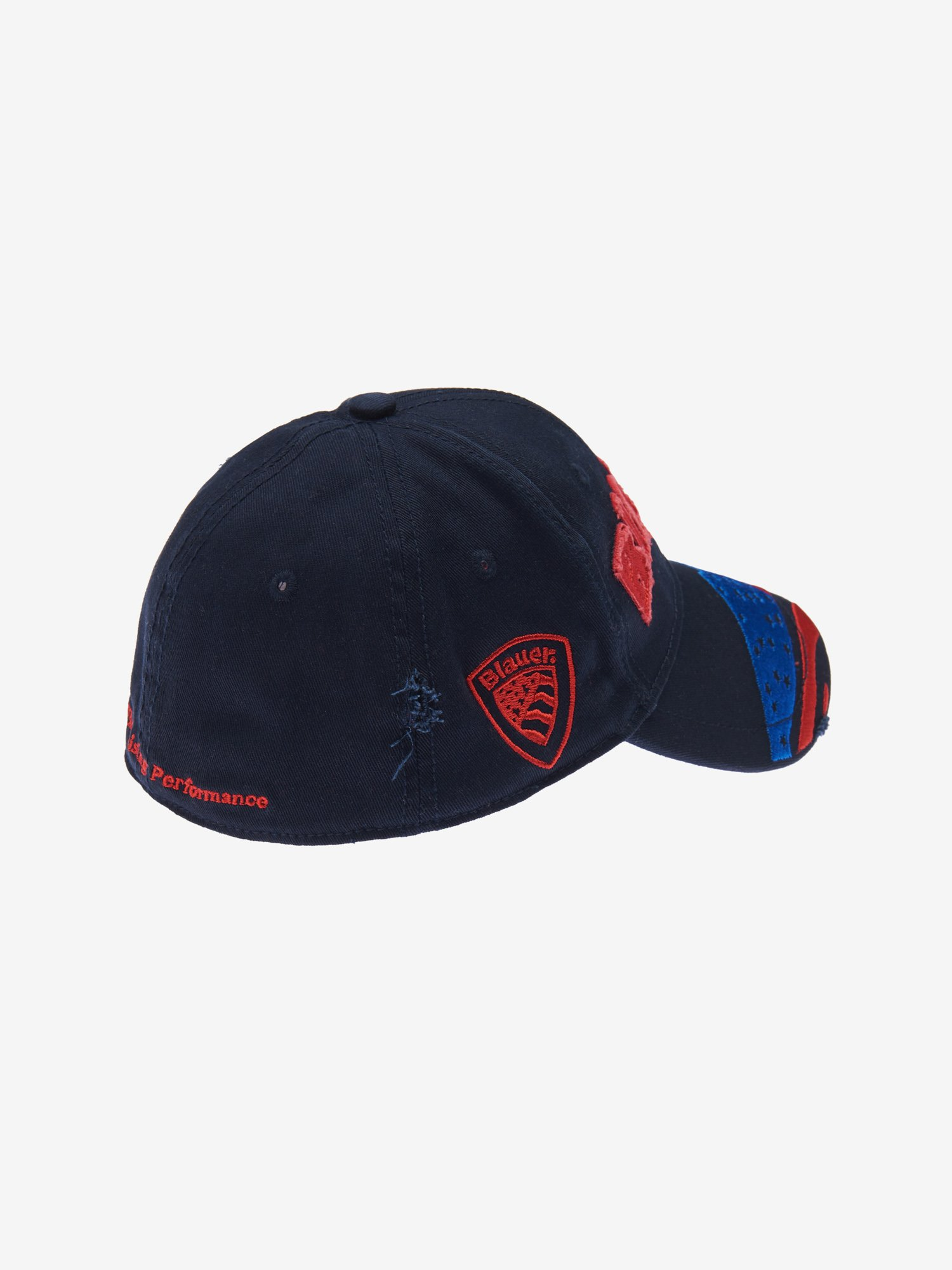 Blauer - JUNIOR CAP WITH VISOR - Blue Ink - Blauer