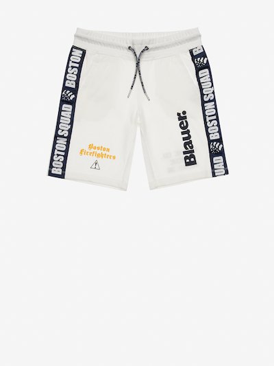 JUNIOR BOSTON SQUAD FLEECE SHORTS