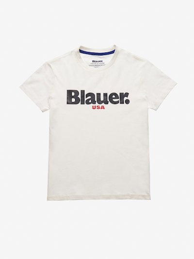 T-SHIRT JUNIOR BLAUER USA