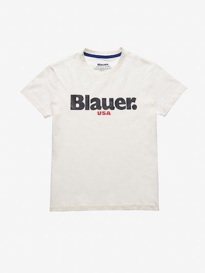JUNIOR BLAUER USA T-SHIRT