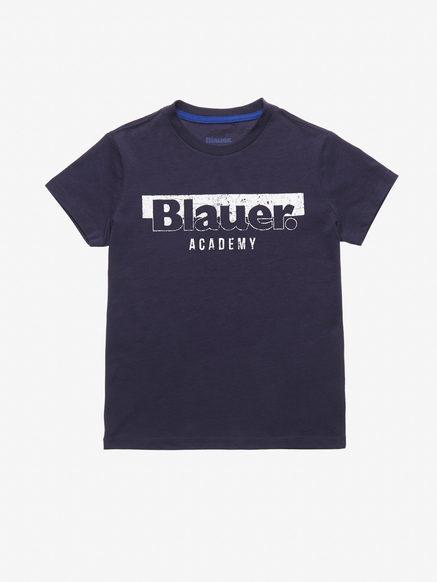 Blauer - T-SHIRT JUNIOR BLAUER ACADEMY - Blu - Blauer