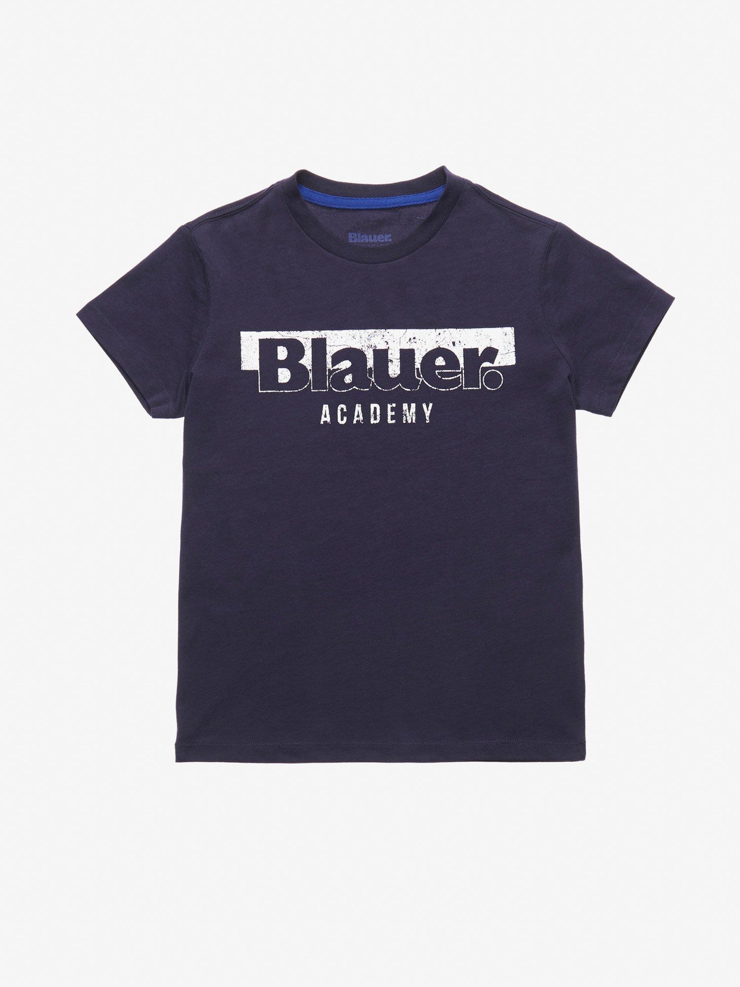 Blauer - ФУТБОЛКА ДЕТСКАЯ BLAUER ACADEMY - голубой - Blauer