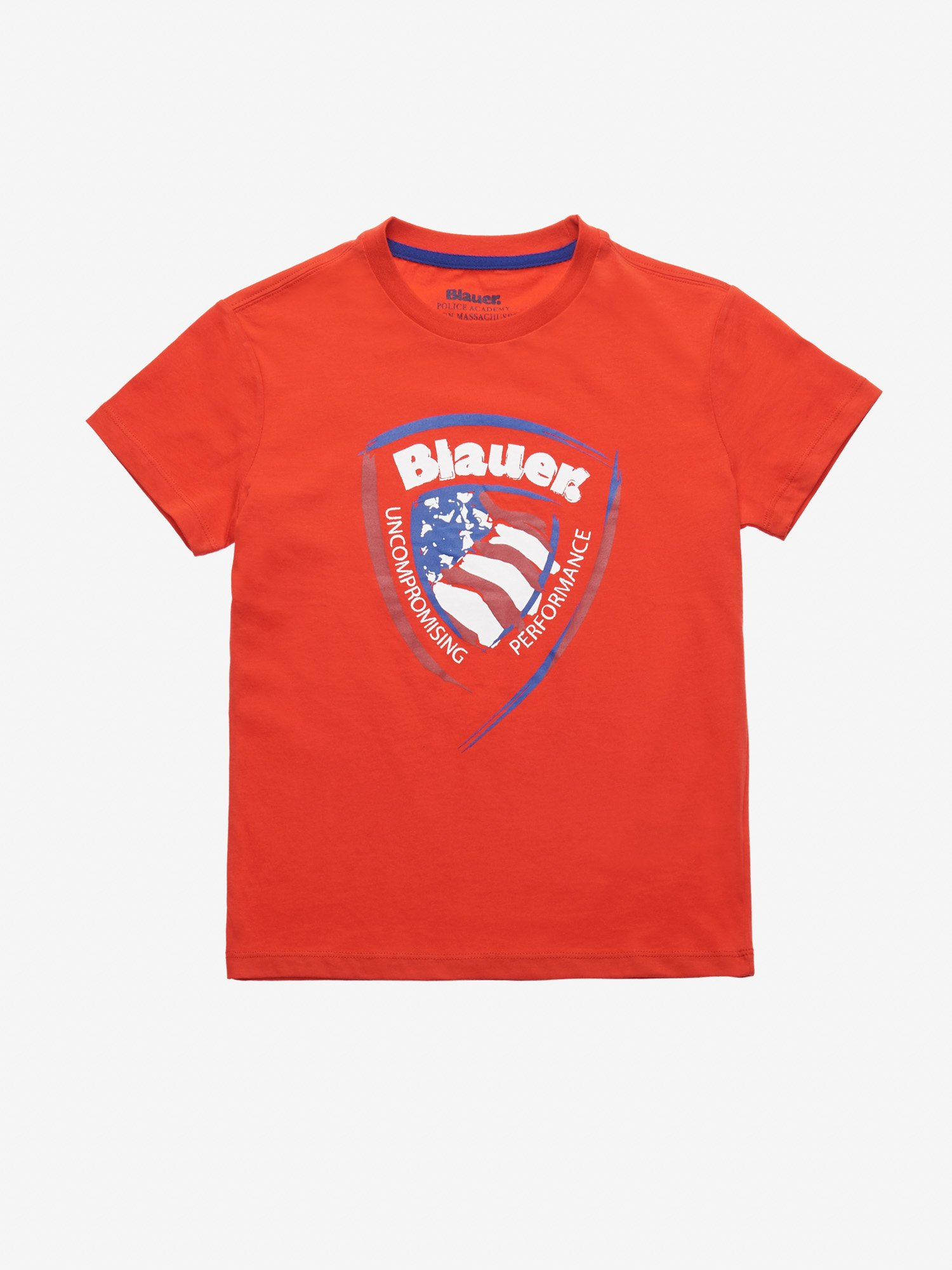 T-SHIRT JUNIOR BLAUER-SCHILD - Blauer