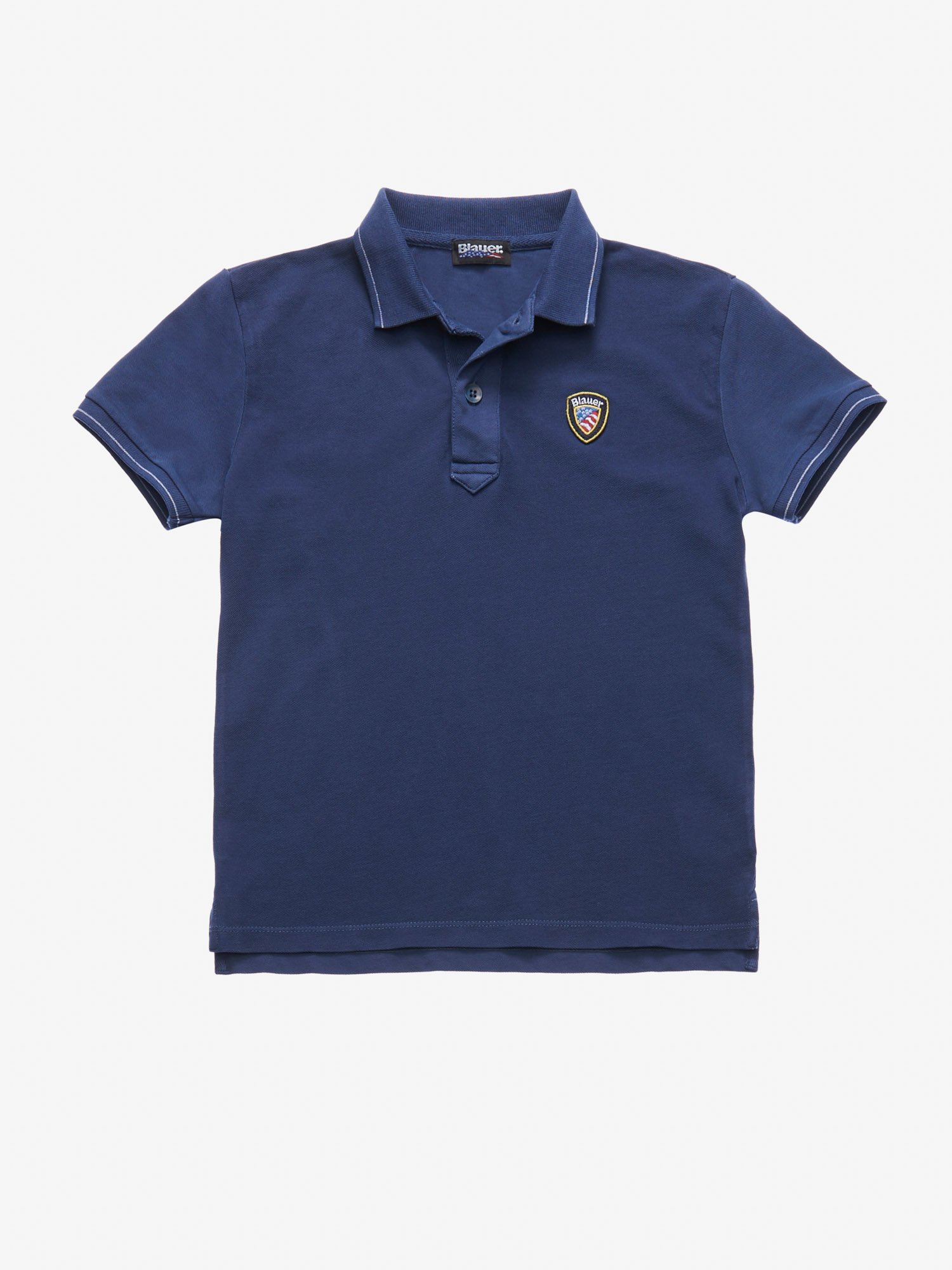 Blauer - JUNIOR SHORT SLEEVE POLO SHIRT - Blue Ink - Blauer