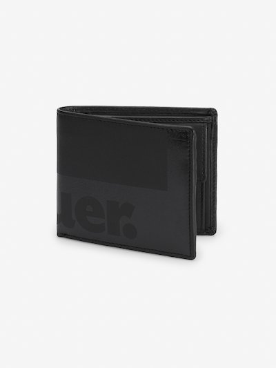 SMALL CALFSKIN WALLET WITH COIN PURSE