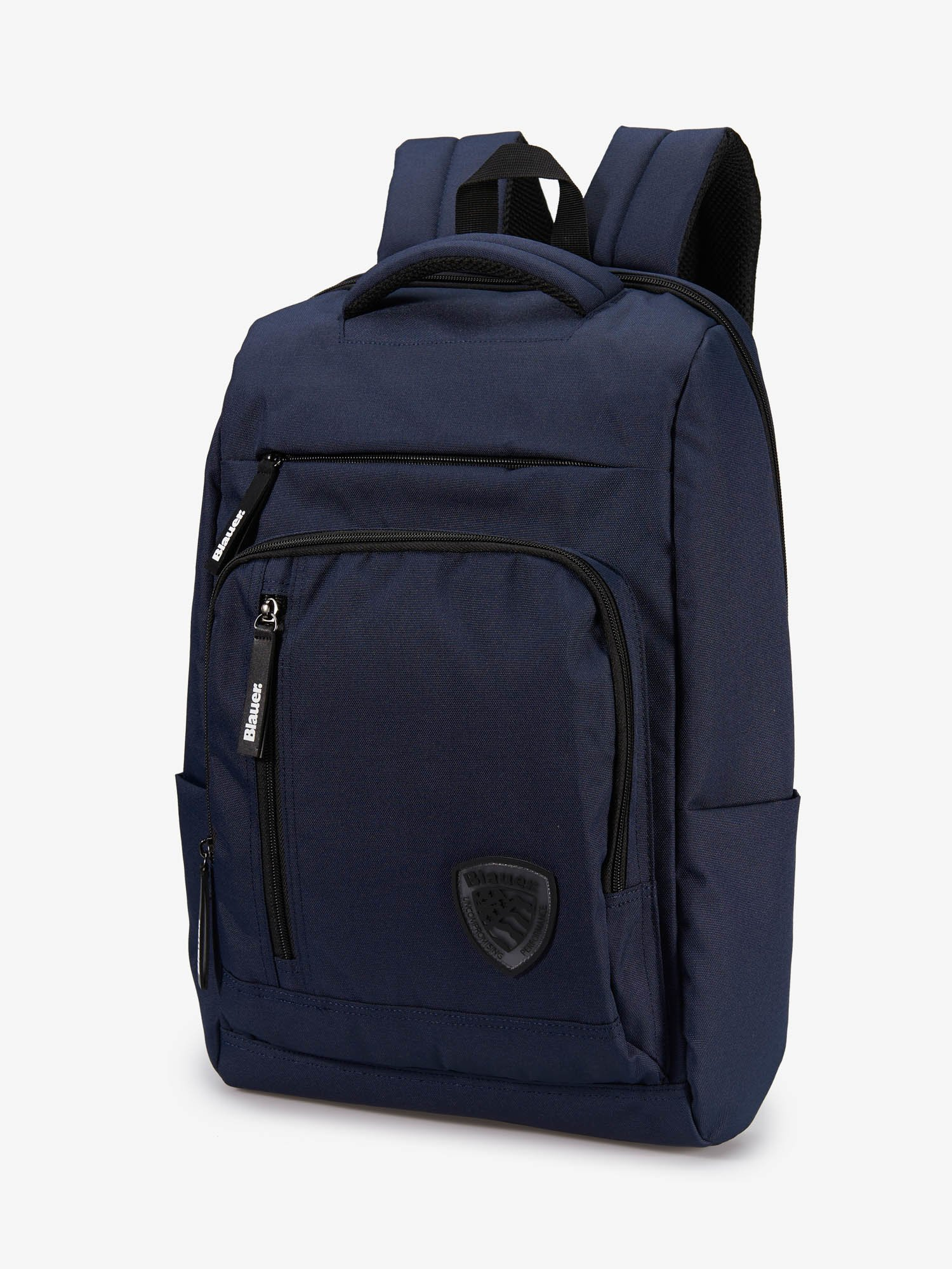 THREE ZIPPER BACKPACK - Blauer