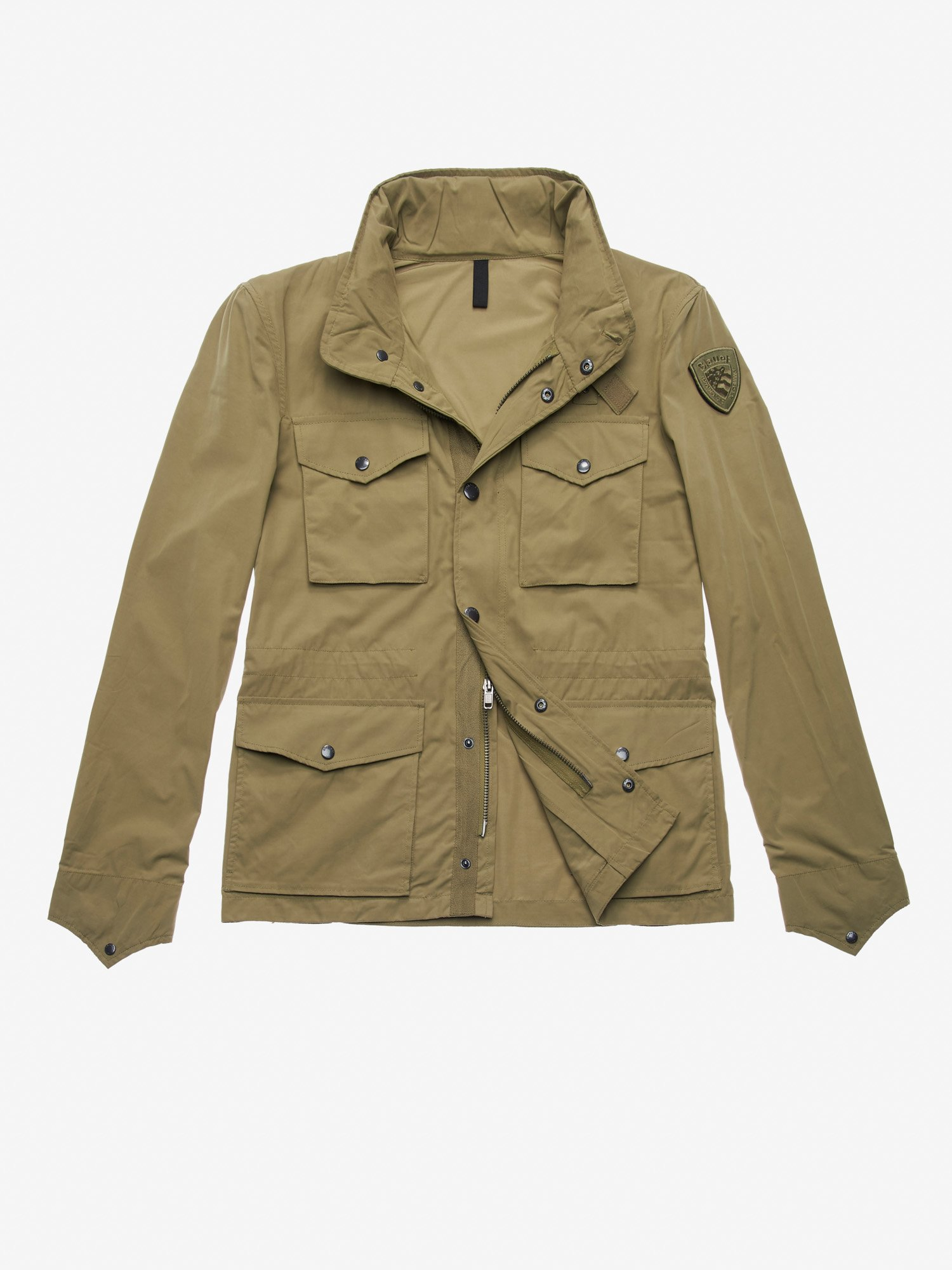Blauer - MARTIN COTTON FIELD JACKET - Dusty Green - Blauer
