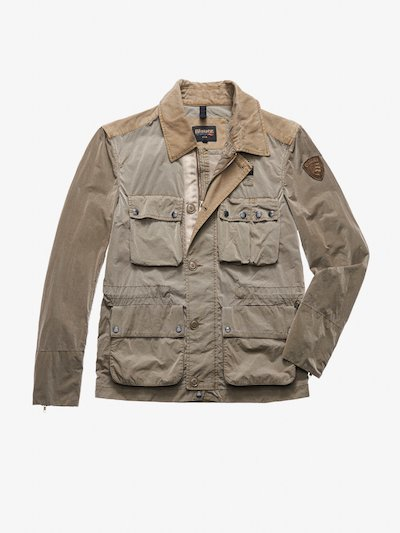 GARCIA GARMENT DYED FIELD JACKET
