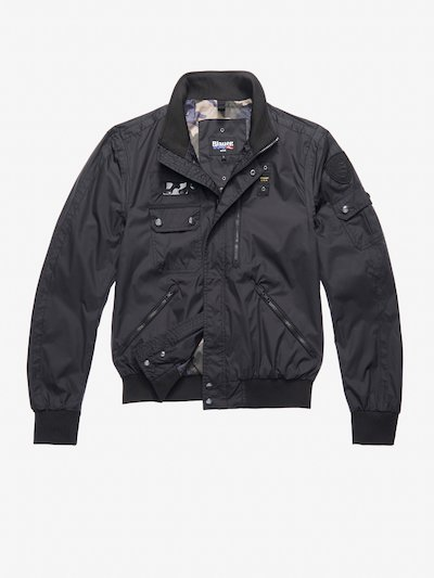 CLARK MULTIPOCKET BOMBER-STYLE JACKET