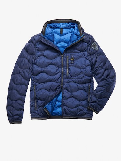 KING WAVE-QUILTED DOWN JACKET