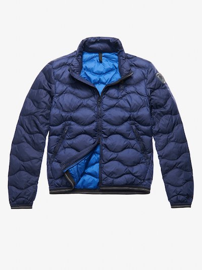 HILL WAVE-QUILTED DOWN JACKET