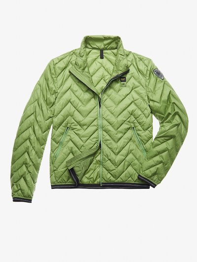 SCOTT ZIG ZAG-QUILTED DOWN JACKET