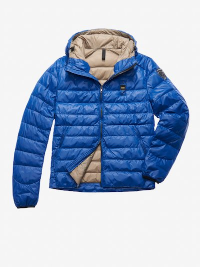 STEPPJACKE LIGHT 100 G MIT KAPUZE ADAMS