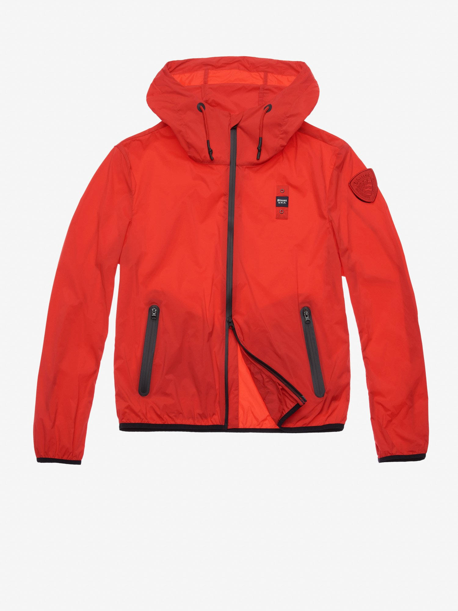 5d25fdd4bbdb Blauer - BAKER STRETCH NYLON JACKET - Poppy - 1 ...