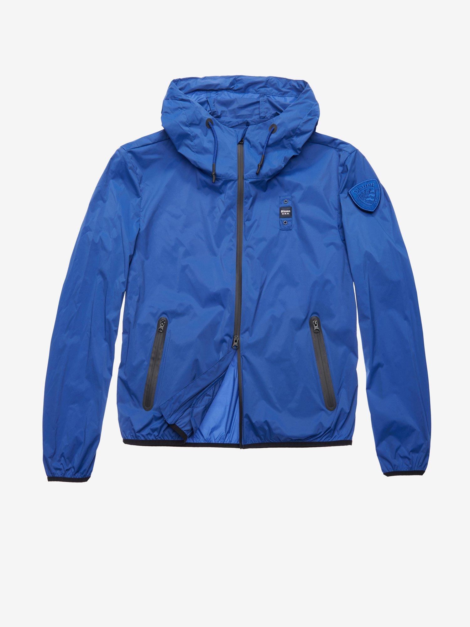 77d6588a02 Blauer - BAKER STRETCH NYLON JACKET - Ultramarine Blue - 1 ...