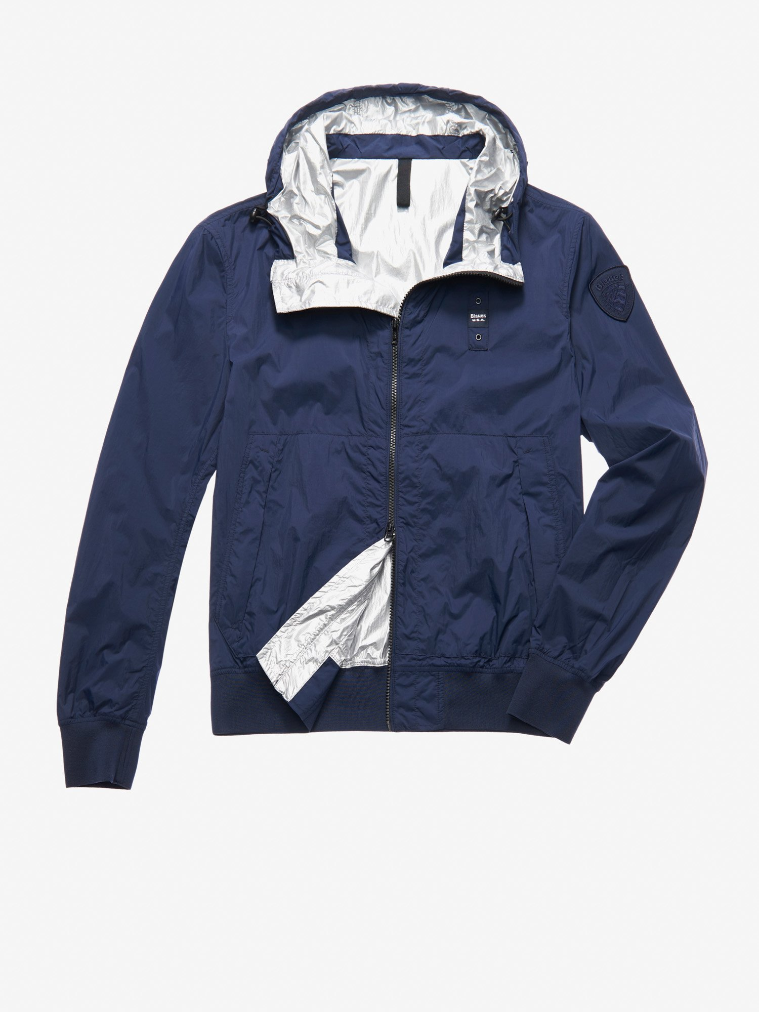 REED SHORT HOODED JACKET - Blauer
