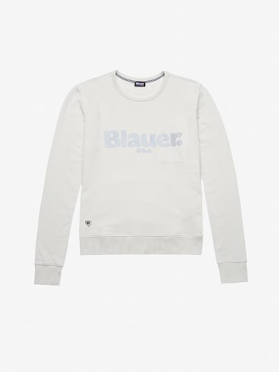 GARMENT DYED CREWNECK SWEATSHIRT