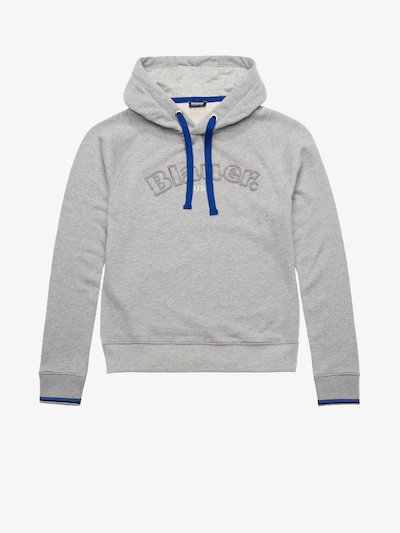 HOODED SWEATSHIRT WITH CONTRASTING COLOUR DETAILS