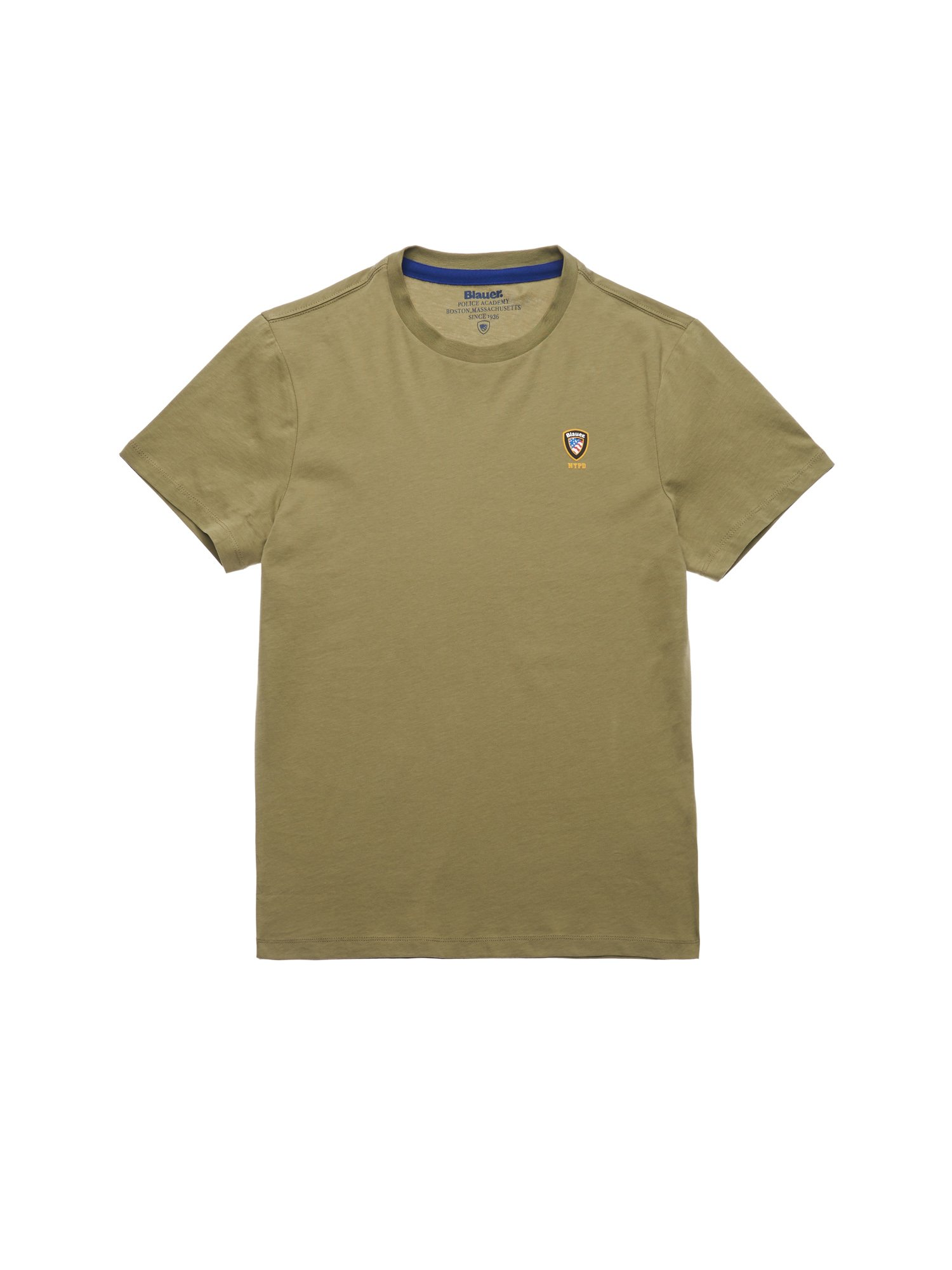 Blauer - NYPD ACADEMY T-SHIRT - Dusty Green - Blauer