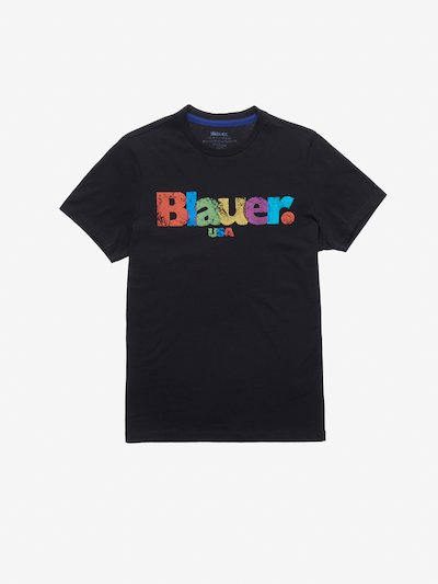 T-SHIRT STAMPA MULTICOLOR