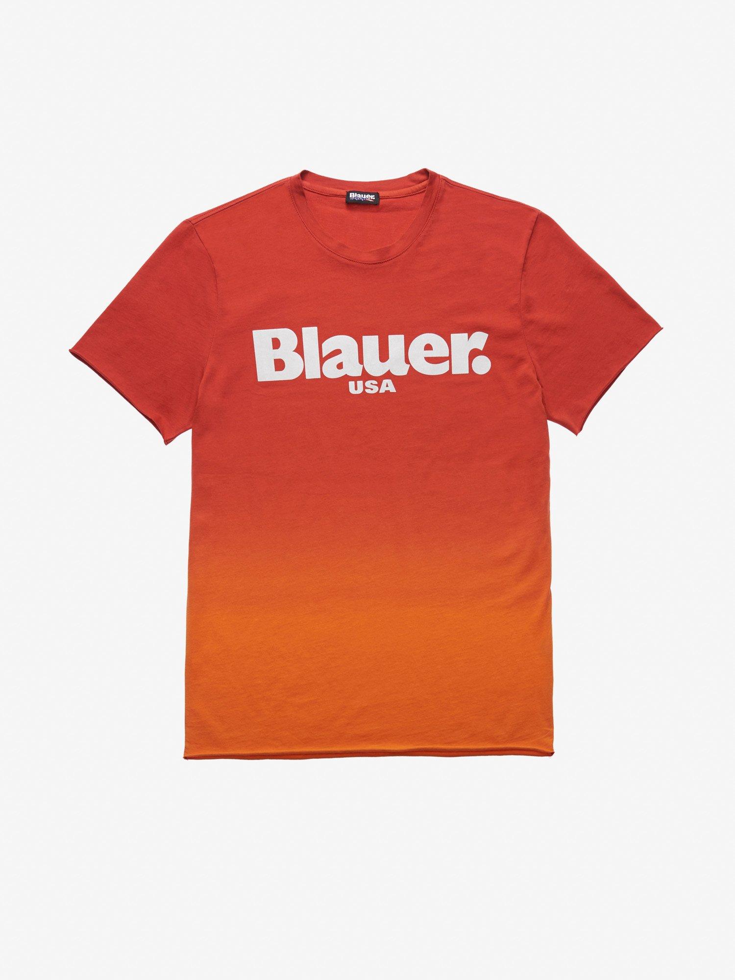 Blauer - SHADED T-SHIRT - Red Ginger - Blauer