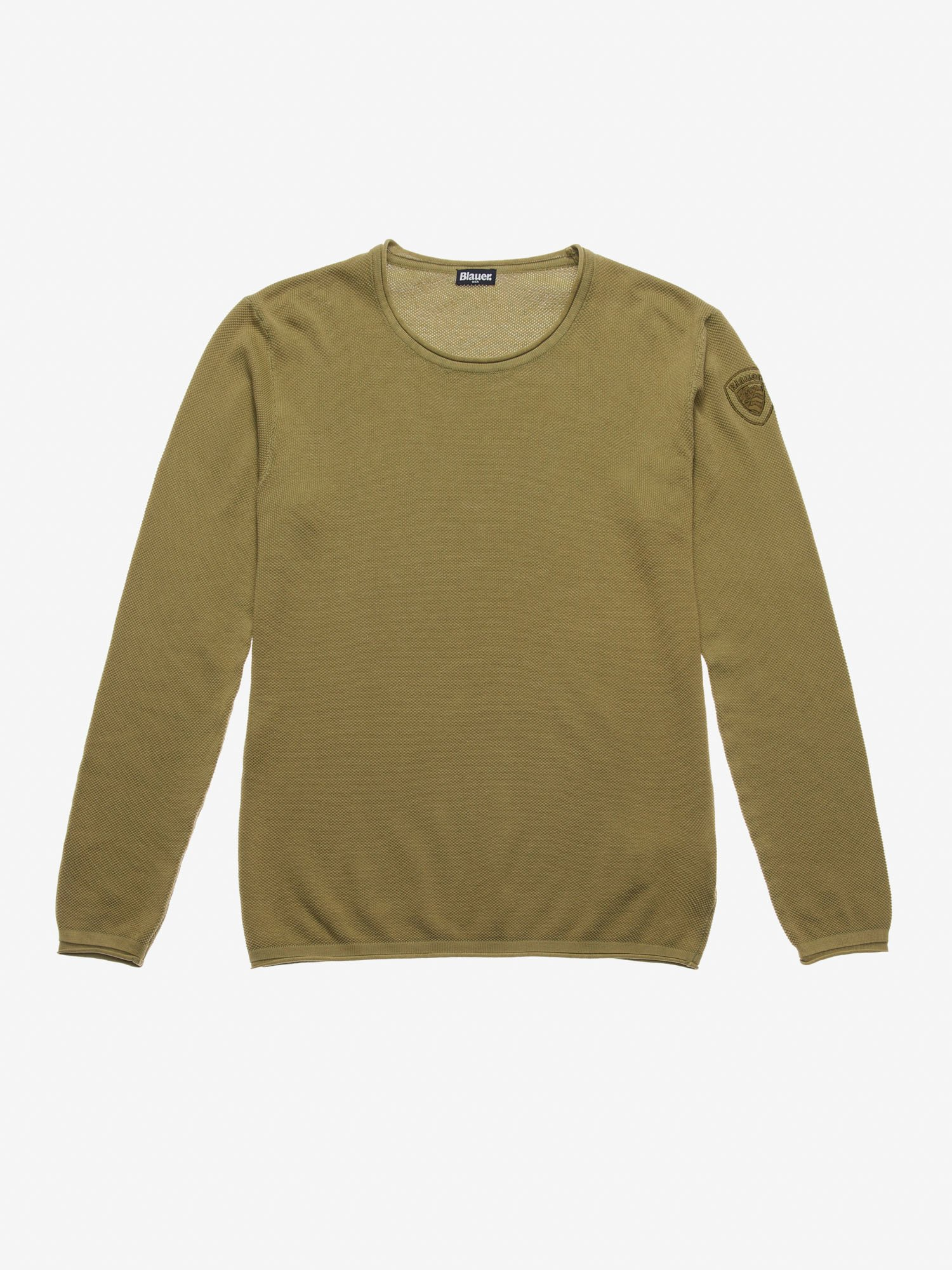 CREW NECK KNIT SWEATER - Blauer