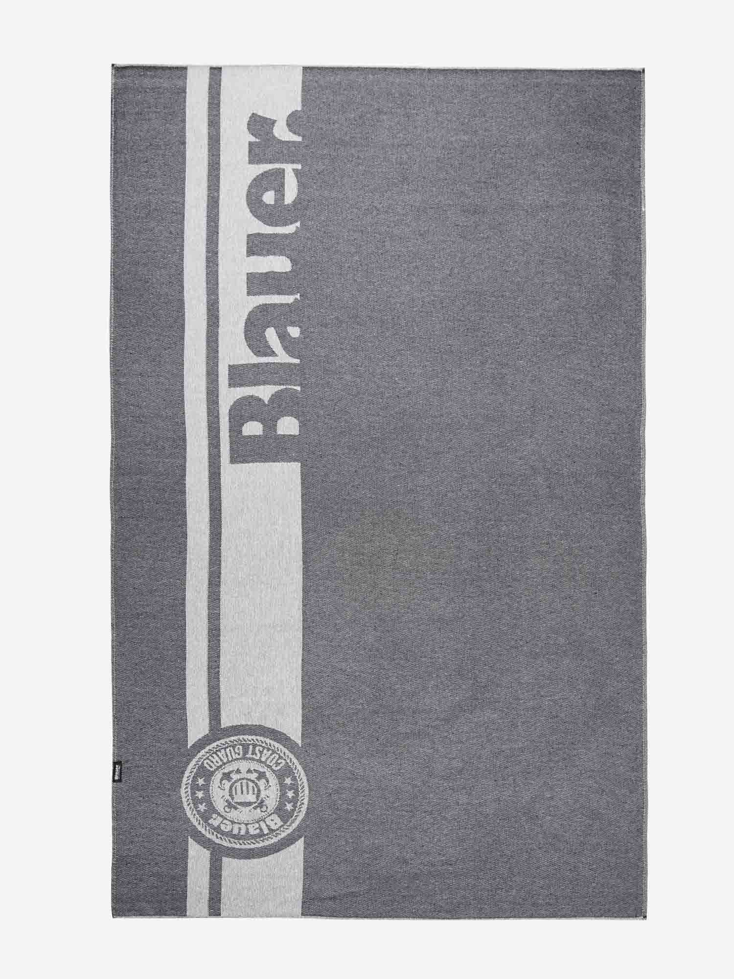 HAMMAN BEACH TOWEL - Blauer