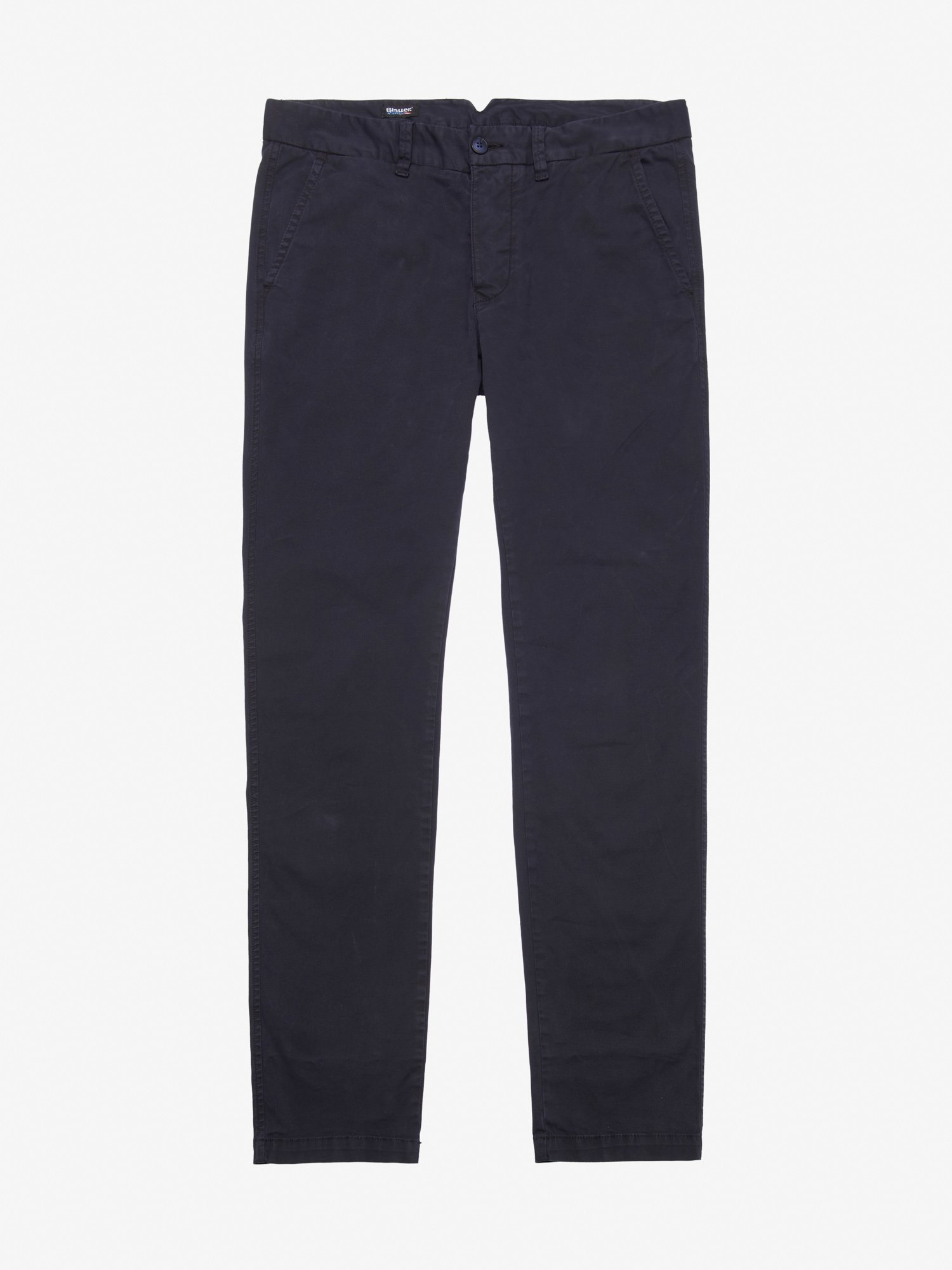 Blauer - STRETCH GABARDINE CHINO - blue - Blauer