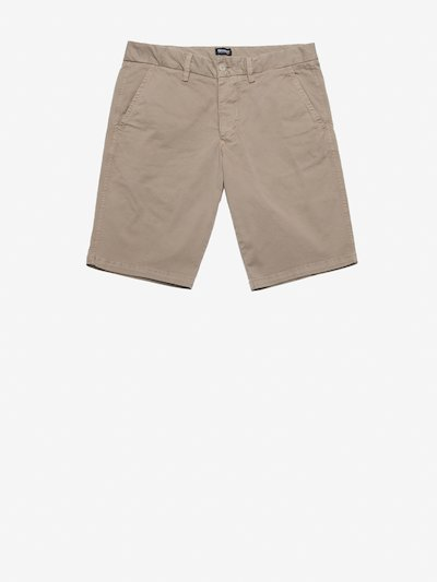STRETCH GABARDINE BERMUDA SHORTS