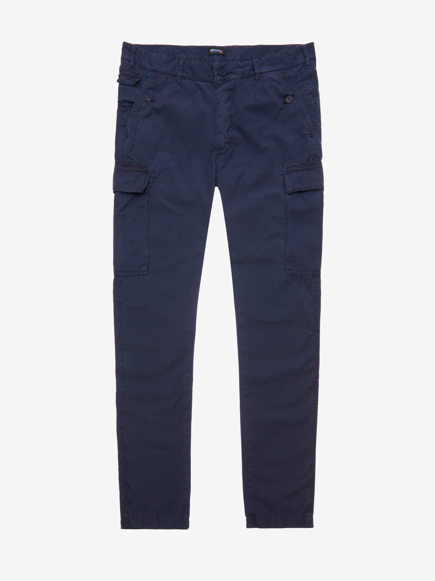 Blauer - COTTON CARGO TROUSERS - Blue Ink - Blauer