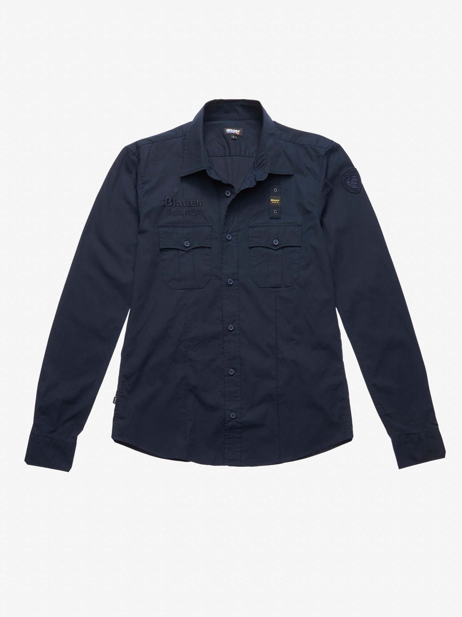 STRETCH POPLIN SHIRT - Blauer