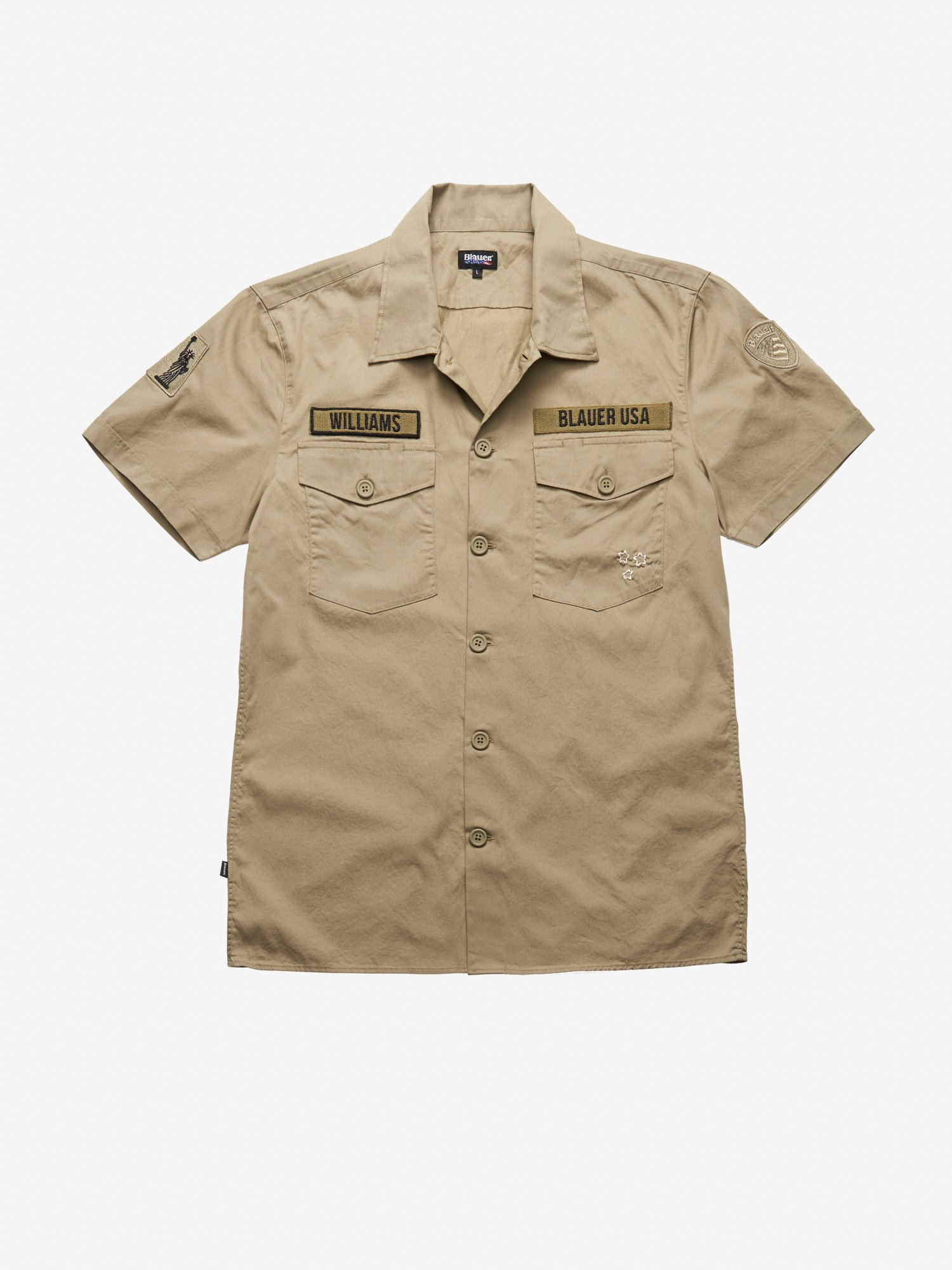 SHORT SLEEVE MILITARY SHIRT - Blauer