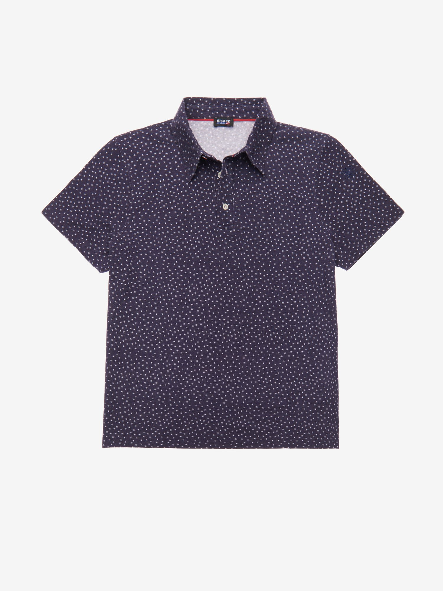 STAR-PRINT POLO SHIRT - Blauer