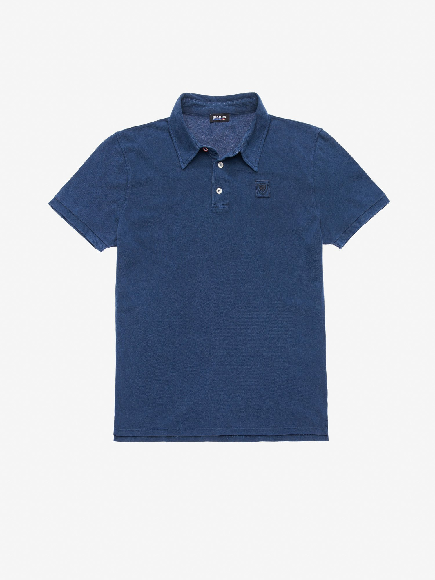 Blauer - GARMENT DYED POLO SHIRT - Blue Ink - Blauer