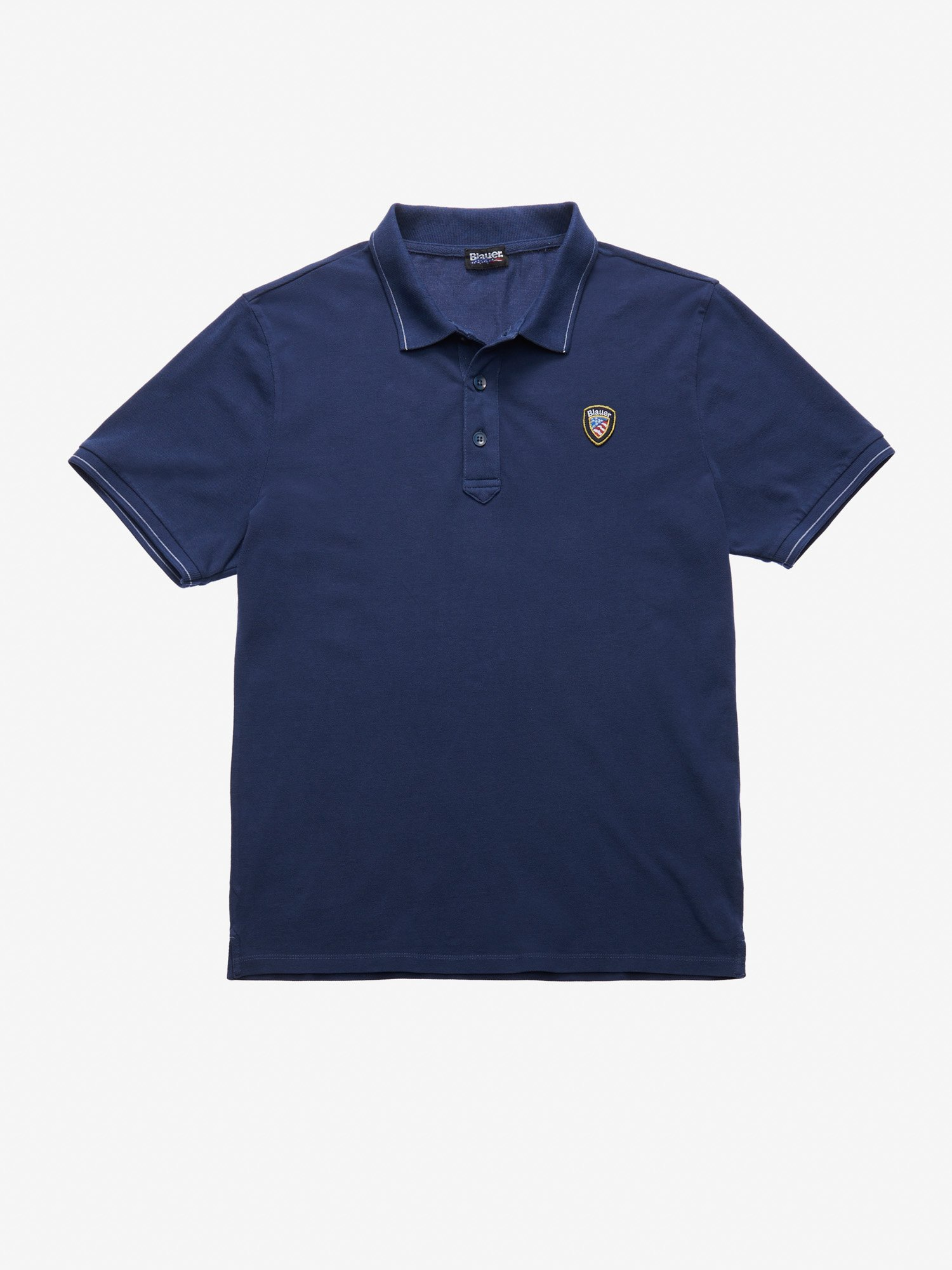 LIGHTWEIGHT PIQUE POLO SHIRT - Blauer